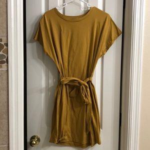mustard yellow dress super comfy casual